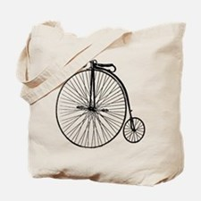 Antique Penny Farthing Bicycle Tote Bag
