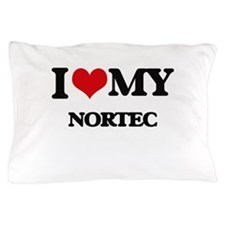 I Love My NORTEC Pillow Case