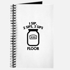 1 Sip, 2 Sips, 3 Sips Floor Journal