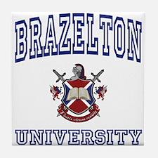 BRAZELTON University Tile Coaster