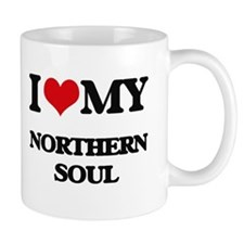 I Love My NORTHERN SOUL Mugs
