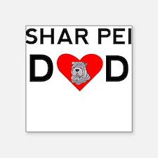 Shar Pei Dad Sticker