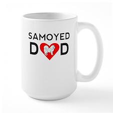 Samoyed Dad Mugs