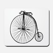 Antique Penny Farthing Bicycle Mousepad