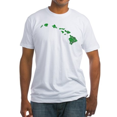 Hawaiian Islands Fitted T-Shirt
