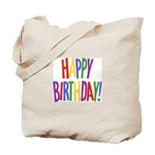 Happy Birthday Tote Bag