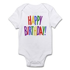 Happy Birthday Infant Bodysuit
