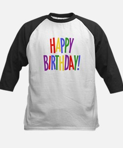 Happy Birthday Kids Baseball Jersey