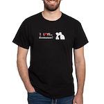 I Love Romance Dark T-Shirt