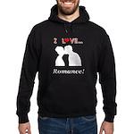 I Love Romance Hoodie (dark)