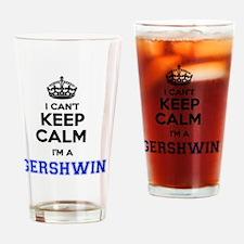 Unique Gershwin Drinking Glass
