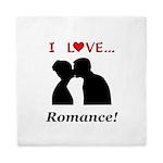 I Love Romance Queen Duvet