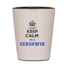 Unique Gershwin Shot Glass