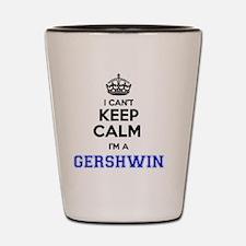 Funny Gershwin Shot Glass