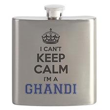Funny Ghandi Flask
