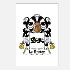 Le Breton Postcards (Package of 8)