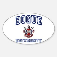 BOGUE University Oval Decal