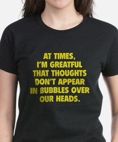 Bubbles Over Our Heads Tee
