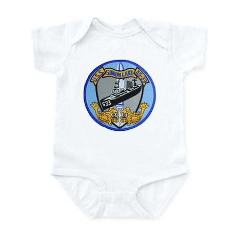 USS SIMON LAKE Infant Bodysuit