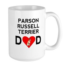 Parson Russell Terrier Dad Mugs