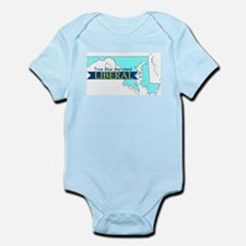 Infant Creeper for a True Blue Maryland LIBERAL