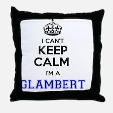 Unique Glambert Throw Pillow