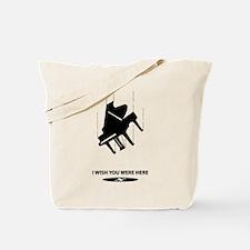 I Wish You Were Here Tote Bag