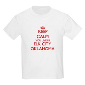 Keep calm you live in Elk City Oklahoma T-Shirt