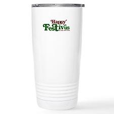 Cute Humorous christmas Travel Mug