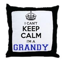 Funny Grandy Throw Pillow
