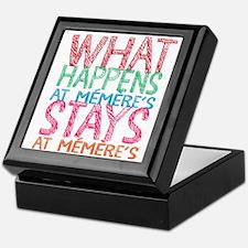 What Happens At Memere's Keepsake Box