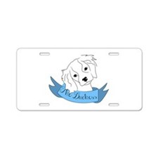 The Duchess Aluminum License Plate