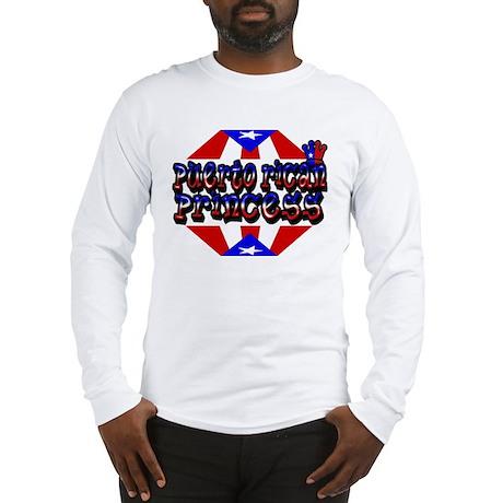 Latino Puerto Rican Princess Long Sleeve T-Shirt