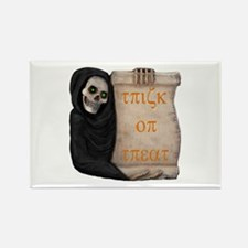 Ghoul Trick or Treat Rectangle Magnet