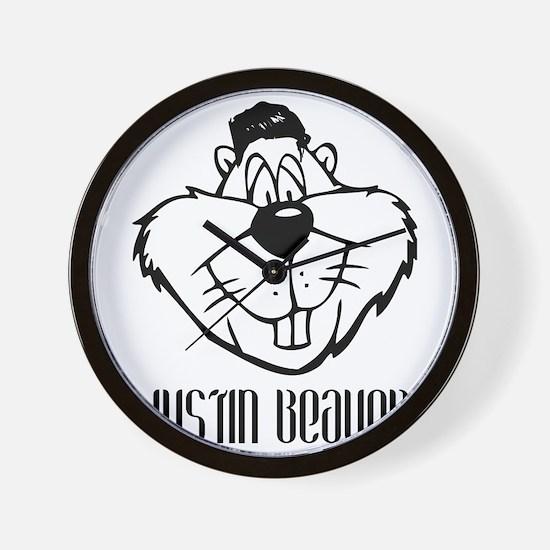 Justin Beaver Wall Clock