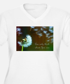 Dandelion 'Thinking About You' Plus Size T-Shirt