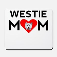 Westie Mom Mousepad