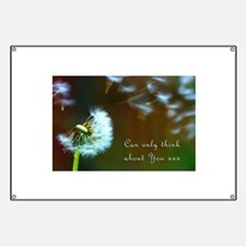 Dandelion 'Thinking About You' Banner