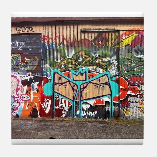 Street Graffiti Tile Coaster