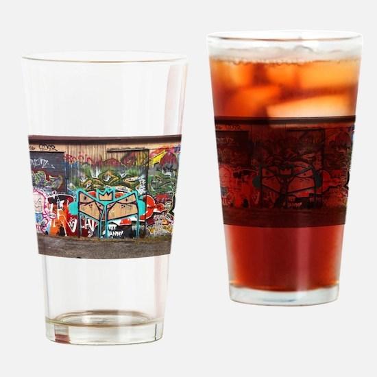 Street Graffiti Drinking Glass