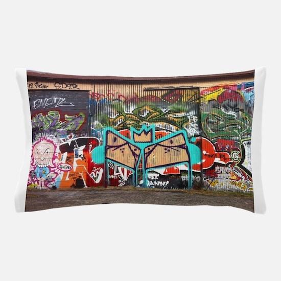 Street Graffiti Pillow Case