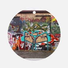 Street Graffiti Ornament (Round)