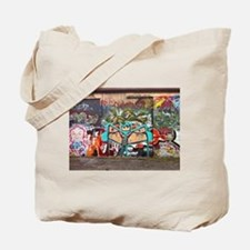 Street Graffiti Tote Bag