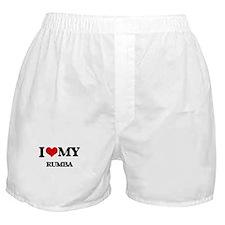 I Love My RUMBA Boxer Shorts