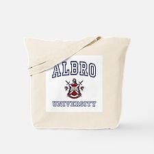 ALBRO University Tote Bag