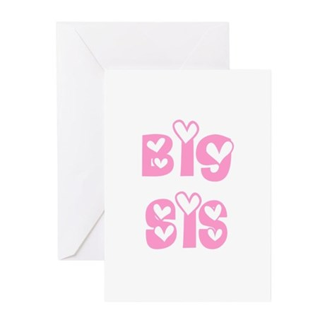 Big Sis Greeting Cards (Pk of 10)