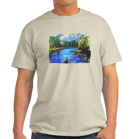 Moose Canoe t-shirt shop Light T-Shirt