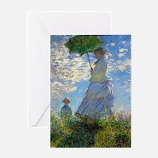Woman with a Parasol Claude Monet Impressionist Gr
