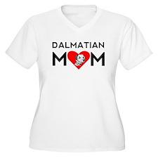 Dalmatian Mom Plus Size T-Shirt