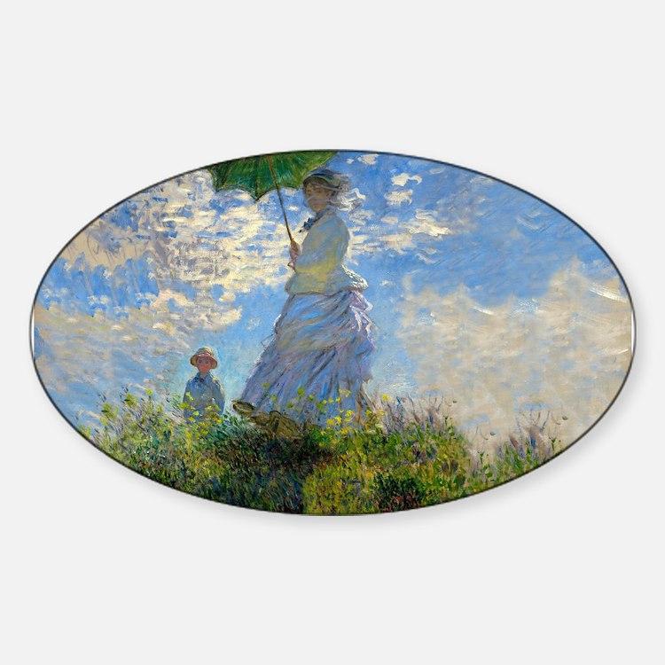 Woman with a Parasol Claude Monet Impressionist St